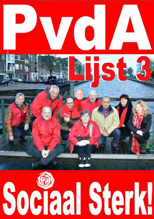 Poster Gemeenteraadsverkiezingen 19 maart 2014