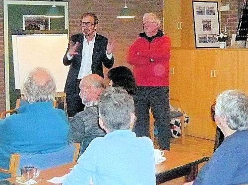 Onze eregast Gijs van Dijk keek, samen met ons, terug op de verkiezingsuitslag...
