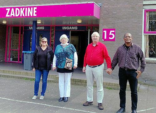 Agnes, Menna, Daan en Kenneth...
